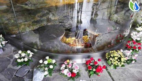 Lourdes water spring